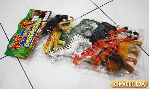 wild animal toys