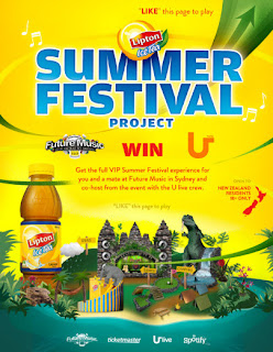 Lipton Summer Festival Project