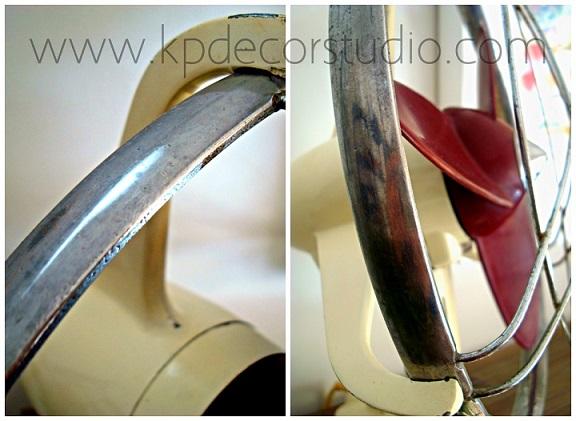 Ventiladores de baquelita y hierro fundido. Marca SP