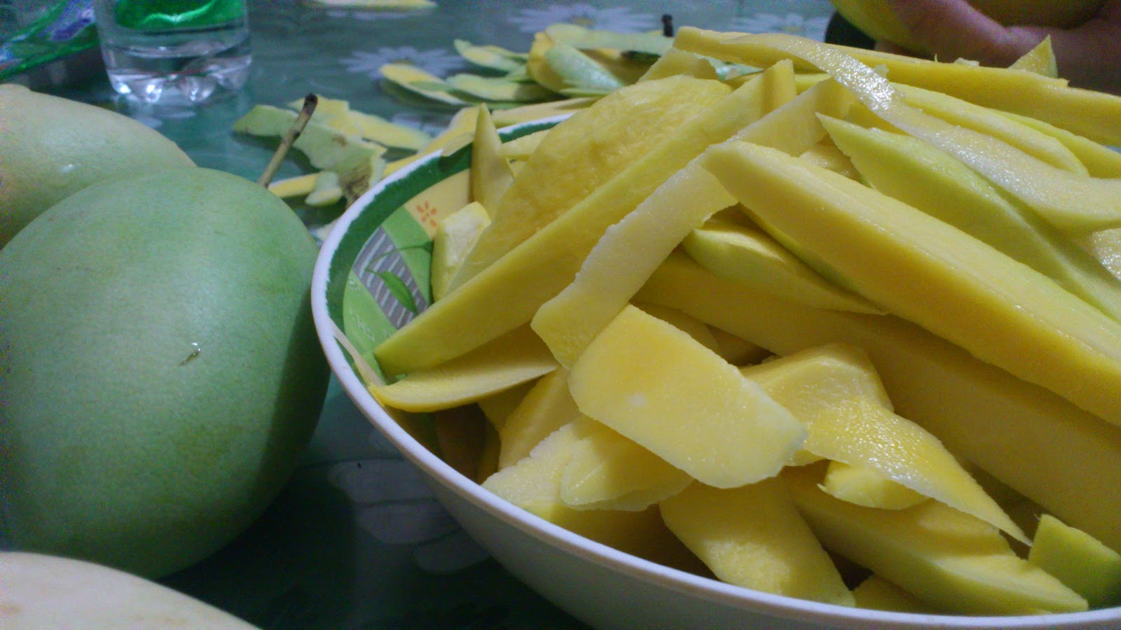 The Secret Notebook: Pickled Mangoes
