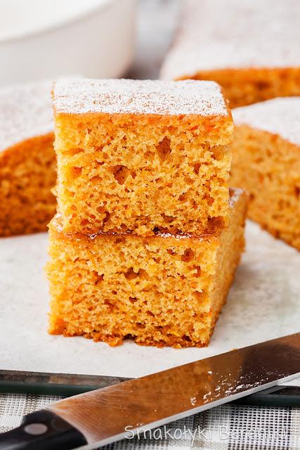 Ciasto marchewkowe o smaku krówkowym