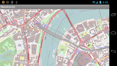 OpenStreetMap on Android