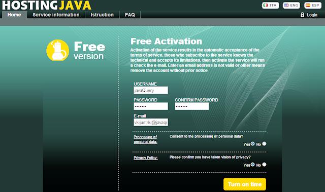 Free JSP/Java hosting [updated: 16/03/2013]