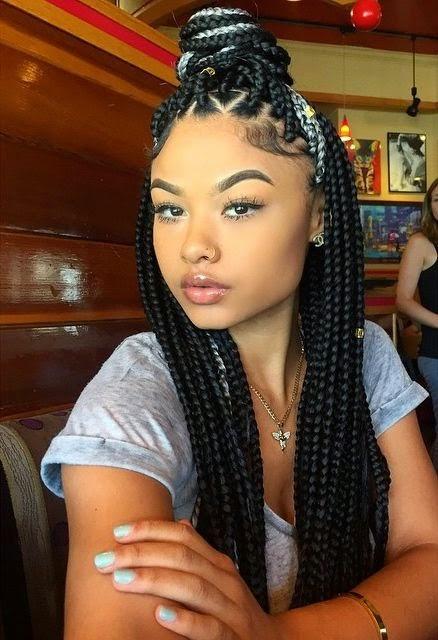 Hair summer styles box braids seriously natural natural hair