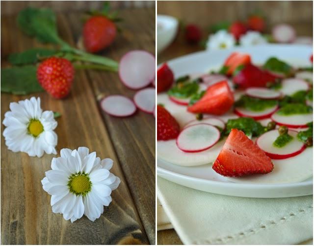 Erdbeer-Salat