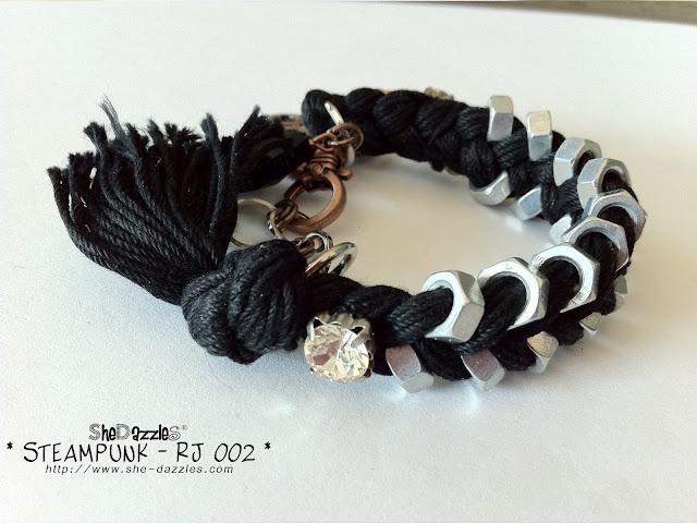 RJ002-steampunk-beads-hardware-bracelet