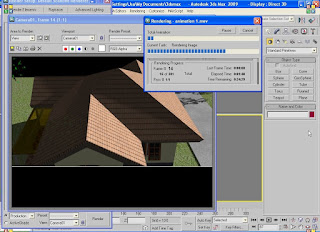 3ds Max 2009  Tutorial: How to Render Animation (Exterior)