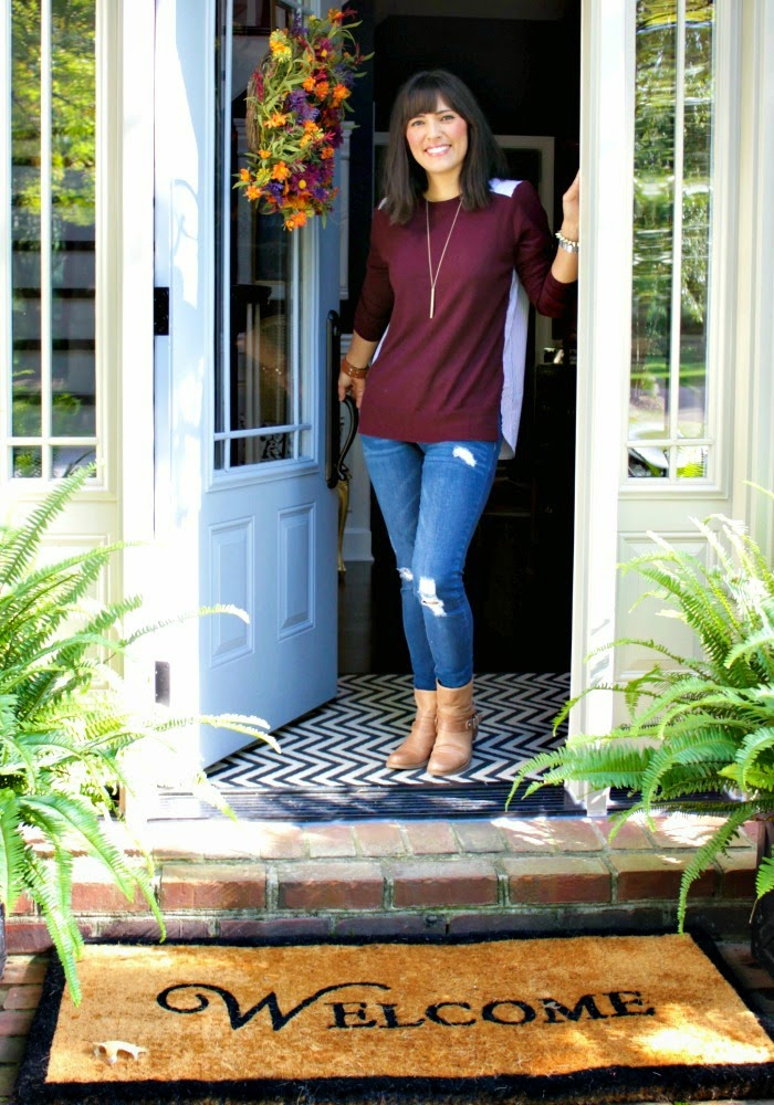 Our Fifth House - Fall Home Tour #EclecticallyFall
