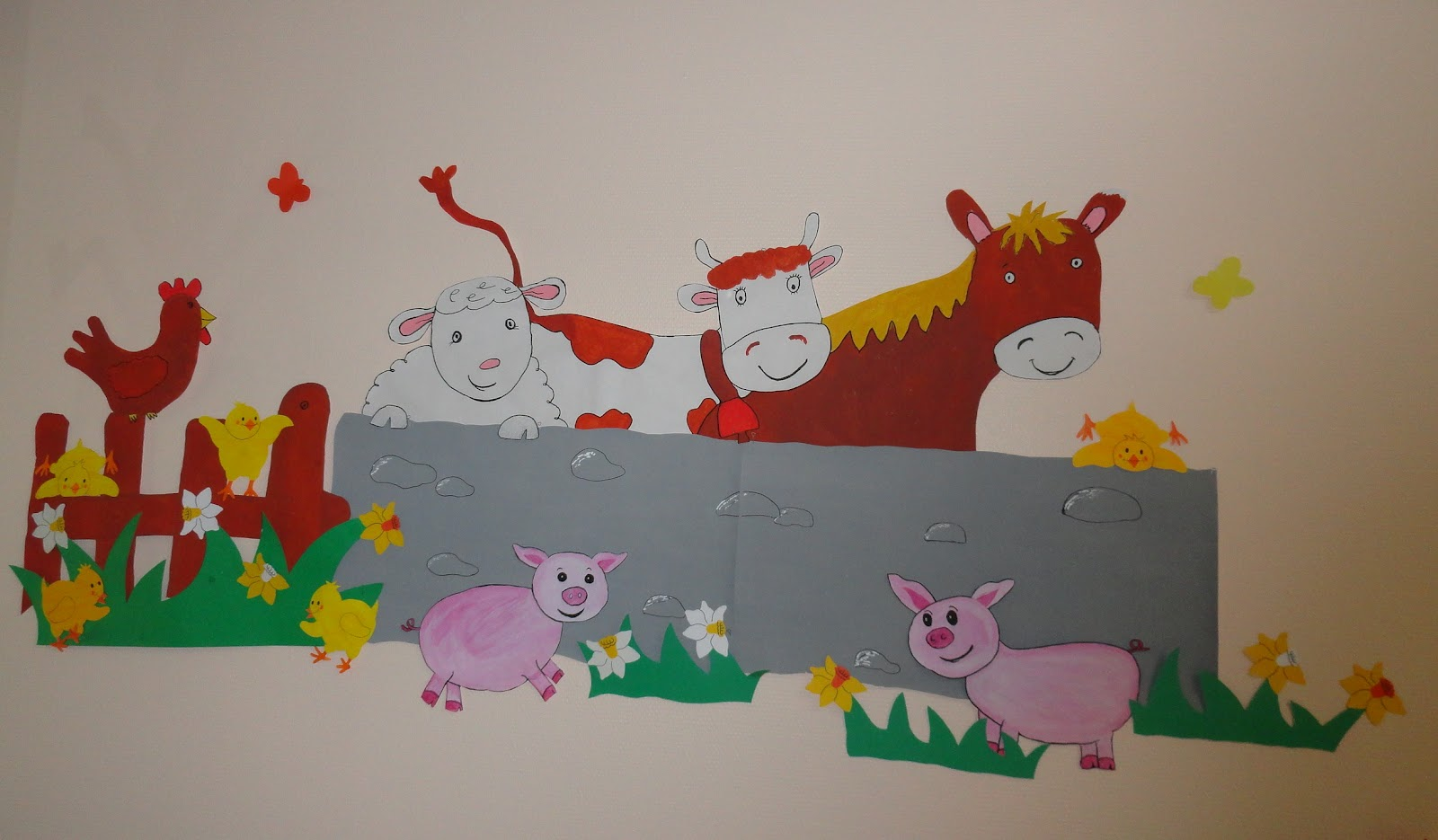Amaliz cr ations dessin mural pour enfants for Dessin mural