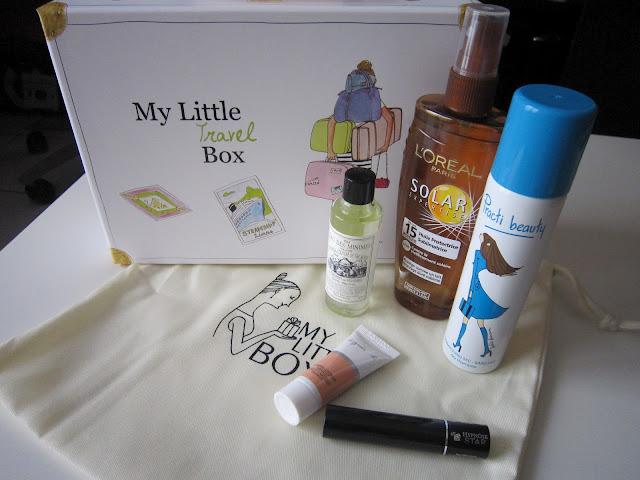 My little travel box contenu
