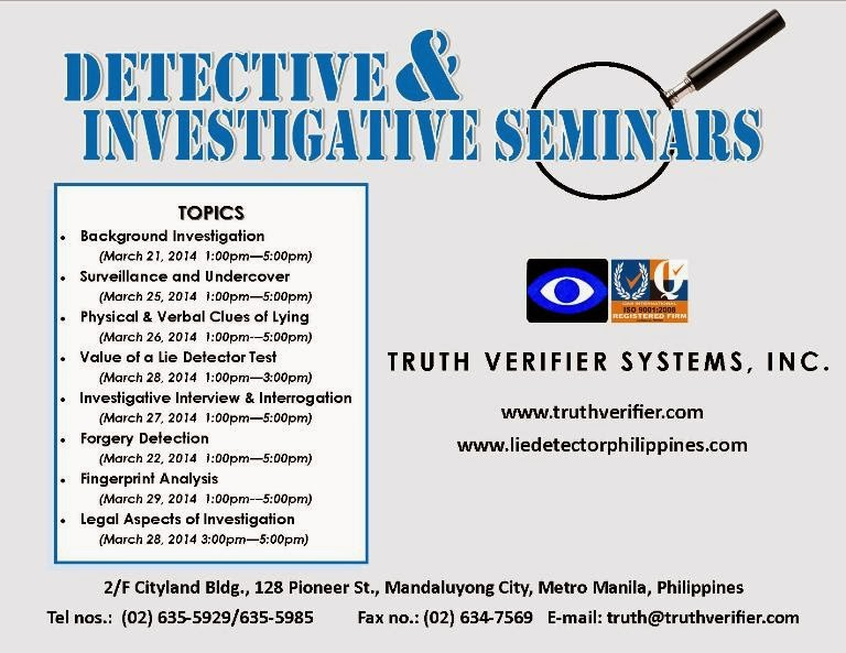 Detective and Investigative Services