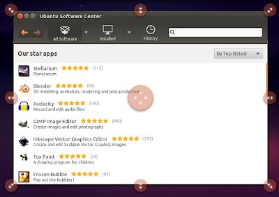 Unity Grab Handles Ubuntu