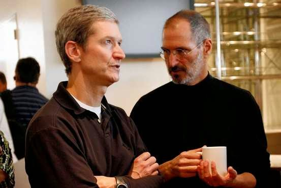 Tim Cook-Steve Jobs