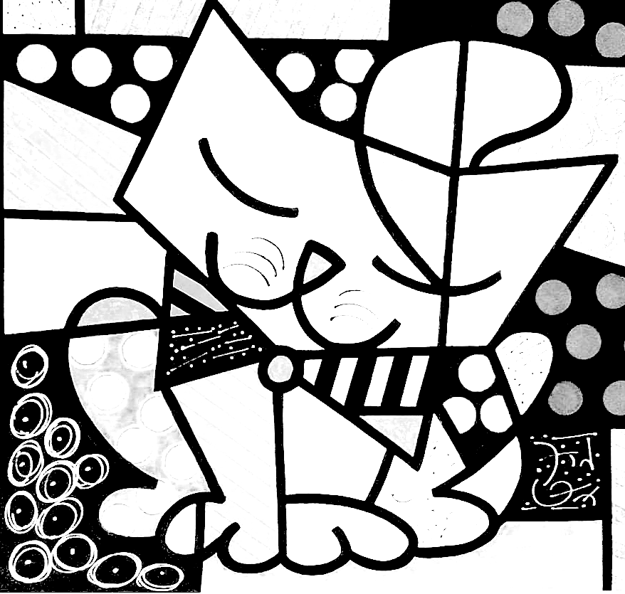 Free Coloring Pages Of Romero Britto Romero Britto Coloring Pages