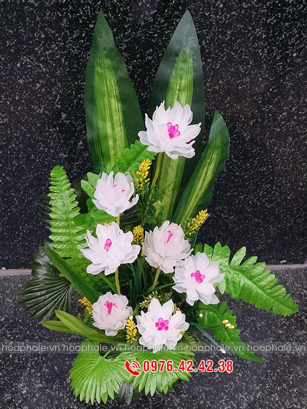 Hoa sen thái - hoa pha lê