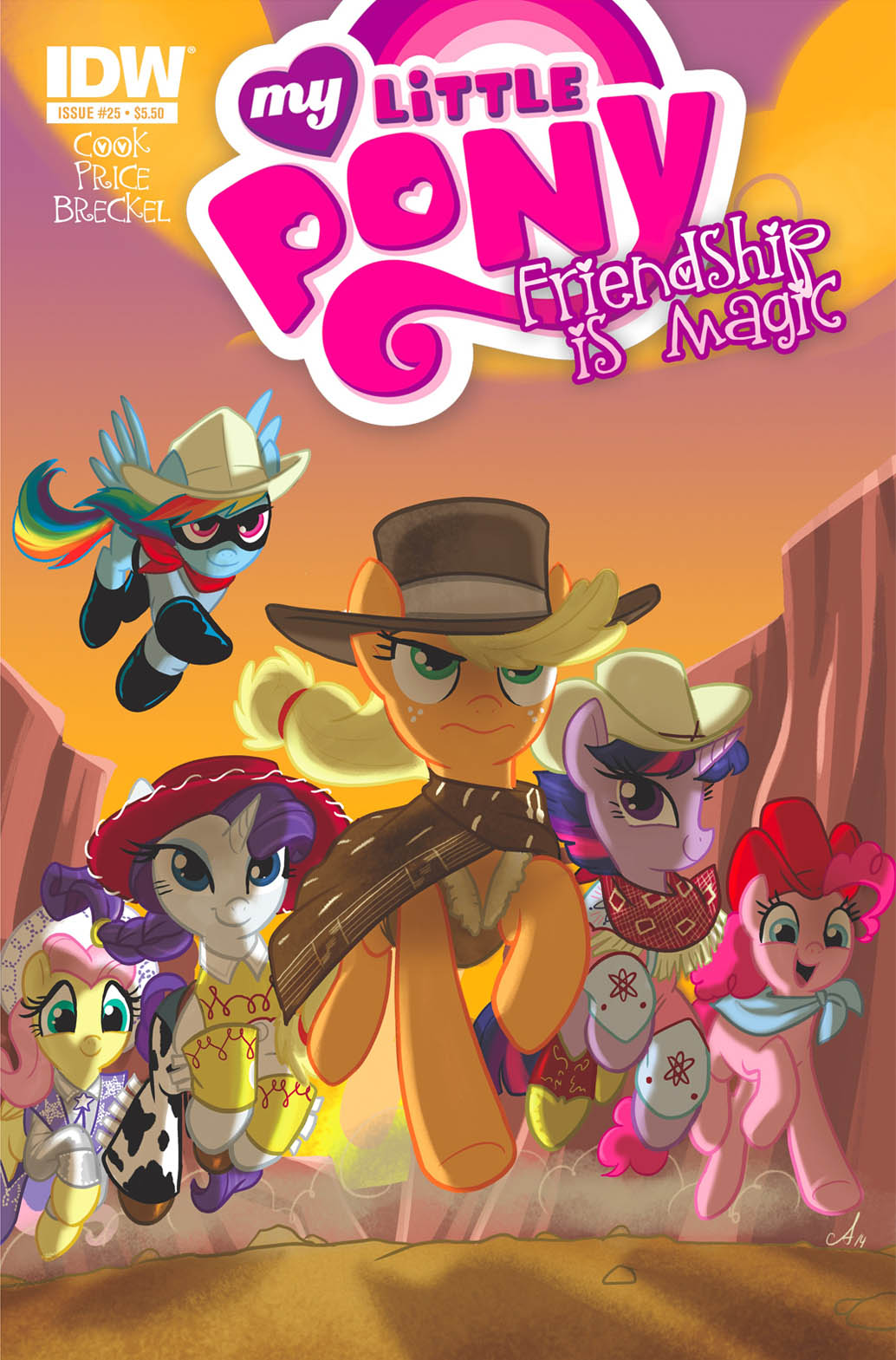 Hot Topic Shows Friendship Is Magic 25 Cover Mlp Merch