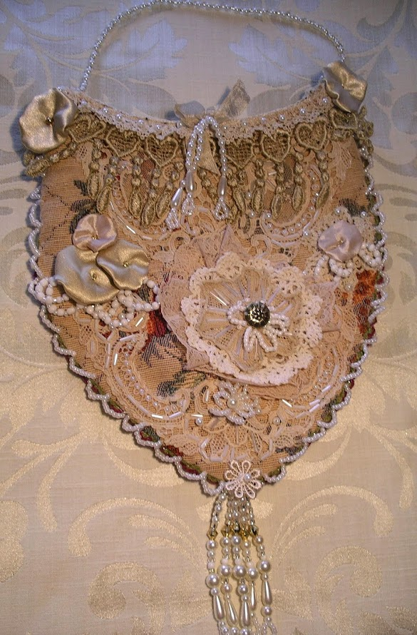 Latest decorative lace pouch