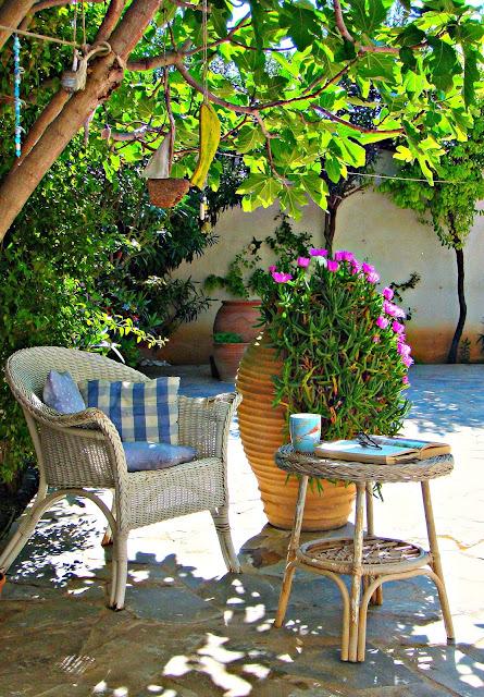 Morning coffee, Greek style.