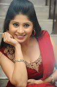 Ziya Khan Glamorous Photos in Red-thumbnail-3