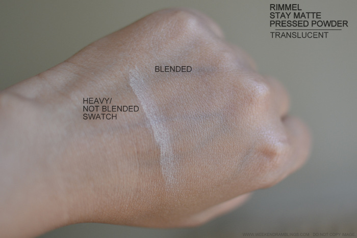Rimmel Stay Matte Pressed Powder Translucent 001 Review Photos Swatches Best Mattifying Indian Darker Oily Skin Makeup Beauty Blog