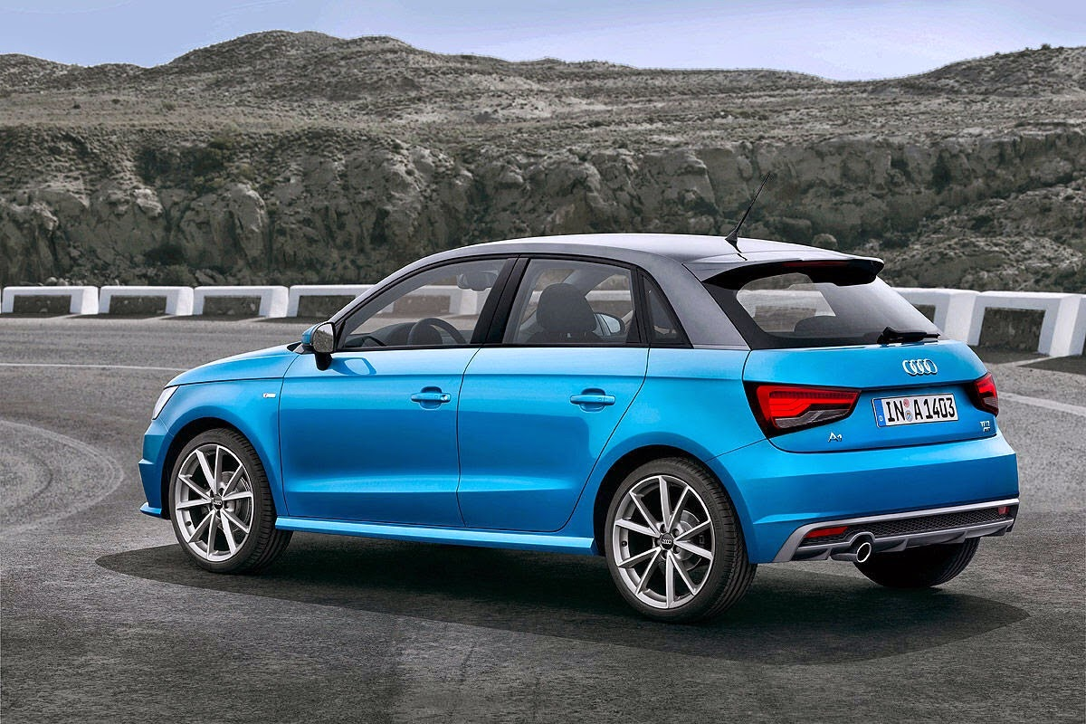 New Audi A1 2015 facelift