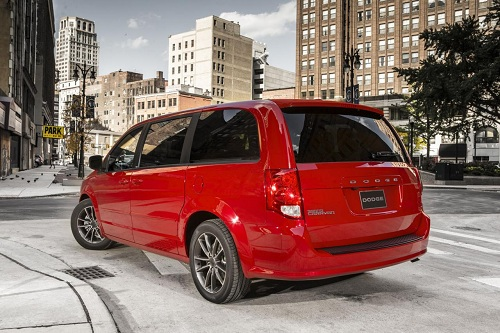 Dodge Grand Caravan Blacktop special edition
