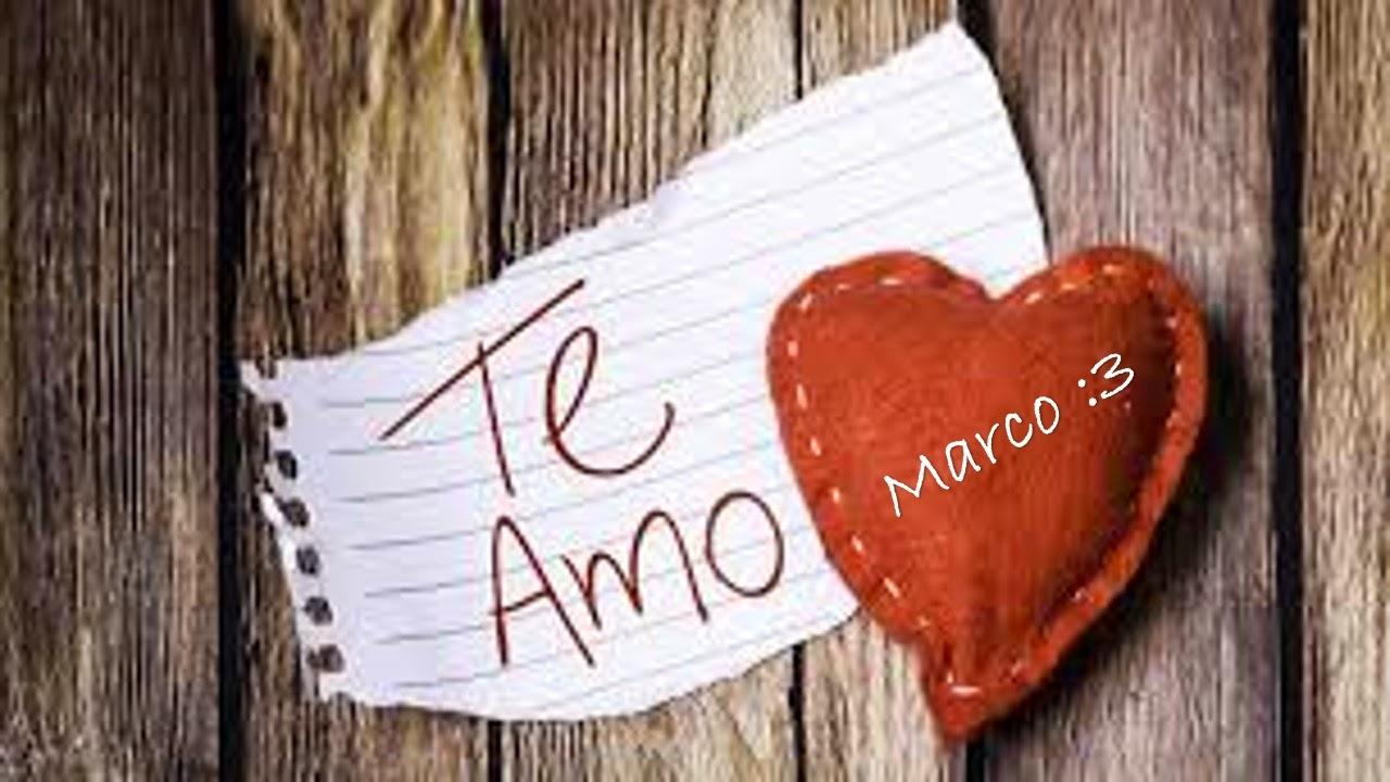 Te amo Marco: Te amo mi osito !!