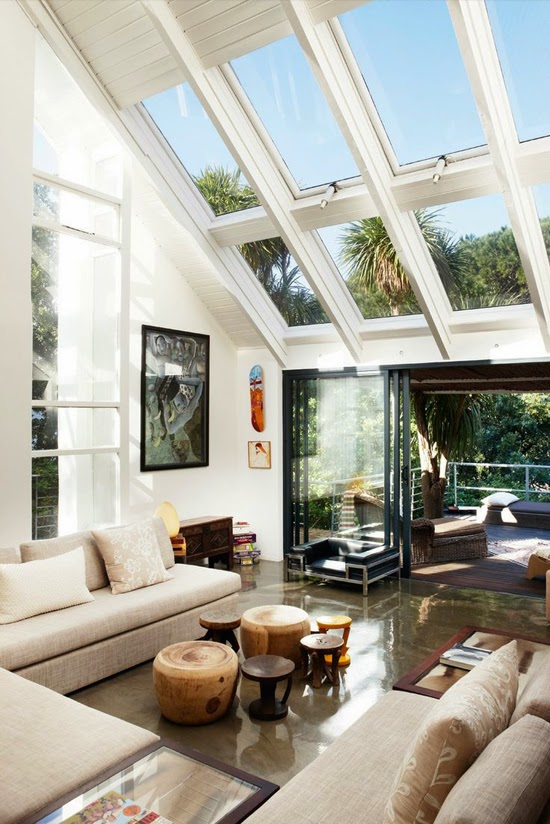 Safari Fusion blog | Lounging around | Sean Mathias' Cape Town residence via Queensland Homes