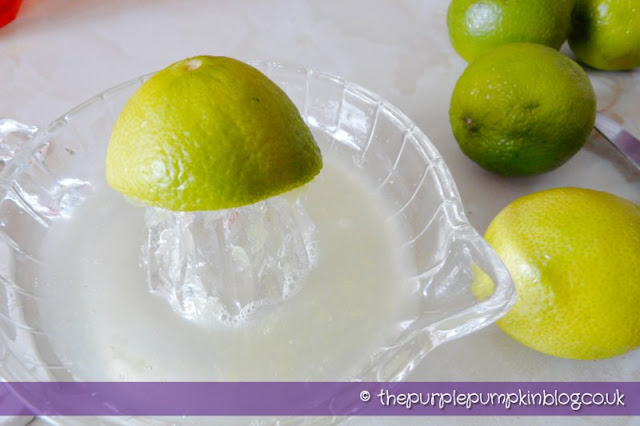 Fresh Limeade at The Purple Pumpkin Blog
