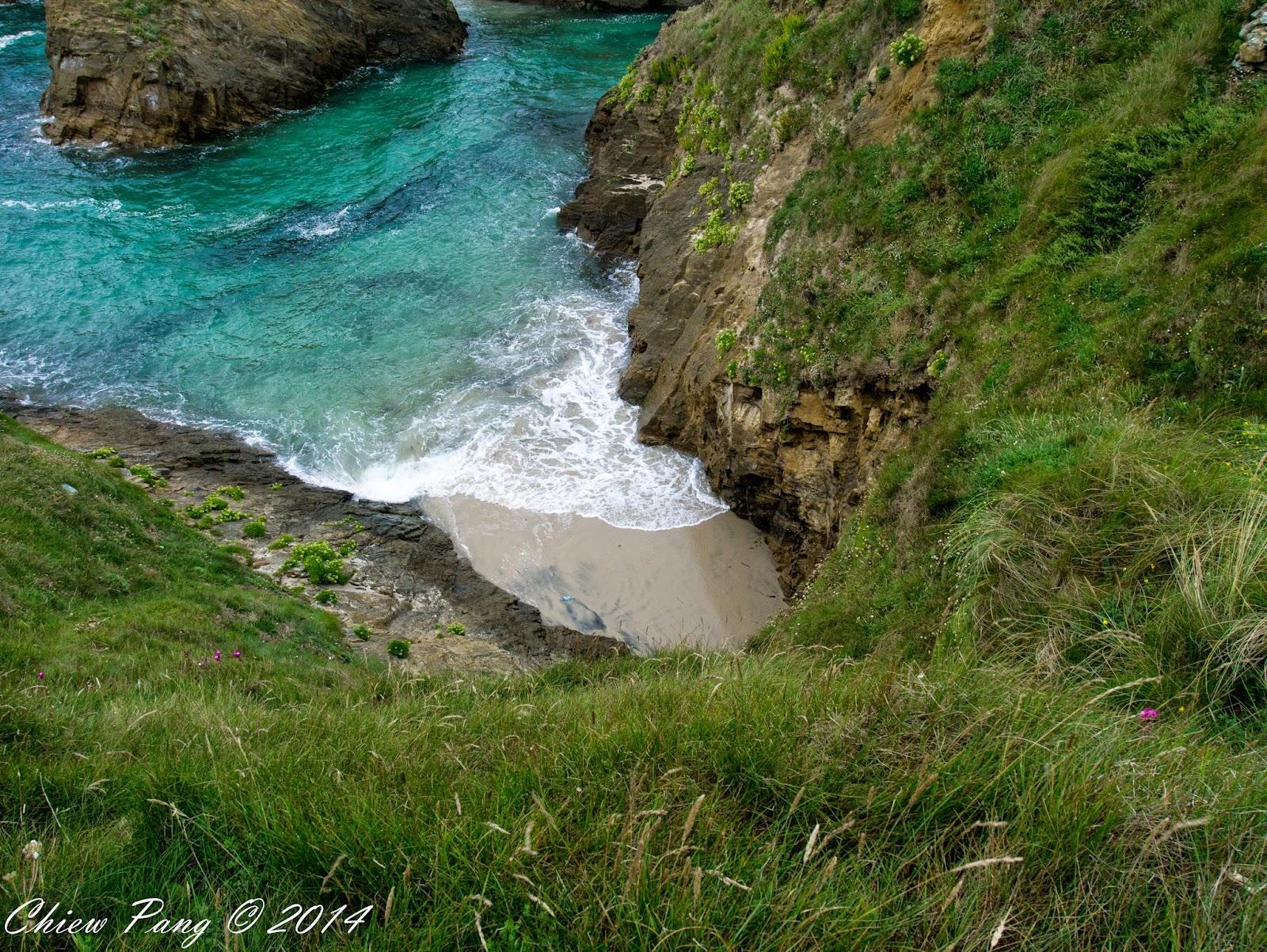 Playa de Santa Comba, Galicia, Spain