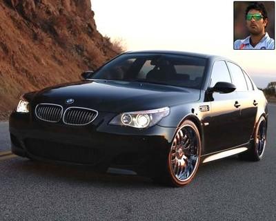 Yuvraj - BMW M5