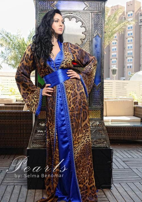 مجموعة قفطان مغربى لربيع وصيف  2012 للمصممة سلمى بن عمر