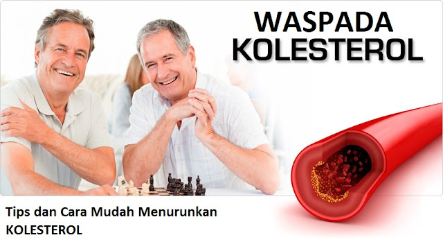 Tips dan Cara Mudah Menurunkan Kolesterol Tinggi