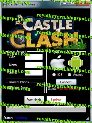 royal cheats castle clash cheats and hack tool new unlimited gold