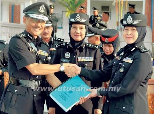 Komandan Polis Wanita Pertama