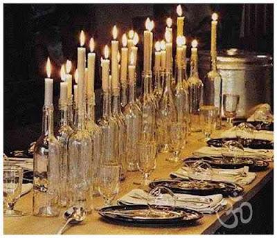 El minihogar for Centros navidenos con velas
