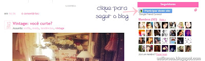 como seguir blog