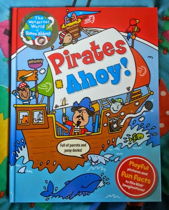 Pirates Ahoy! Book review Early Reader age 5-7
