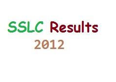 sslc examination results