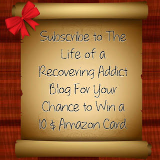 Recovering Addict Blog Giveaway