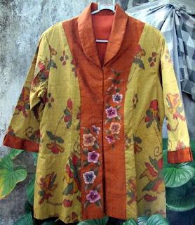 Foto Baju Batik Endek Bali