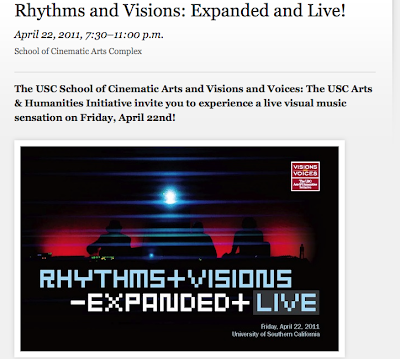 Live Visual Music Event