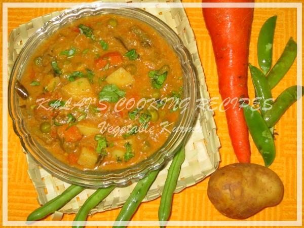 Simple Vegetable Kurma