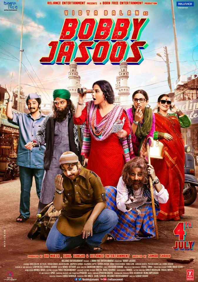 Bobby Jasoos (2014) Movie Official First Look Poster