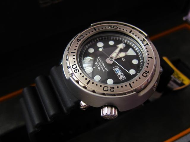 "Seiko Marine Master Professional 300m SBBN017 - ""Tuna"" (BNIB) (Sold)"