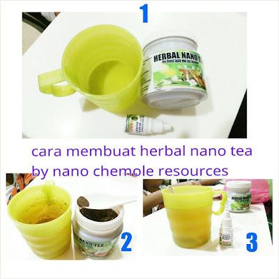 PENYEDIAAN HERBAL NANO TEA