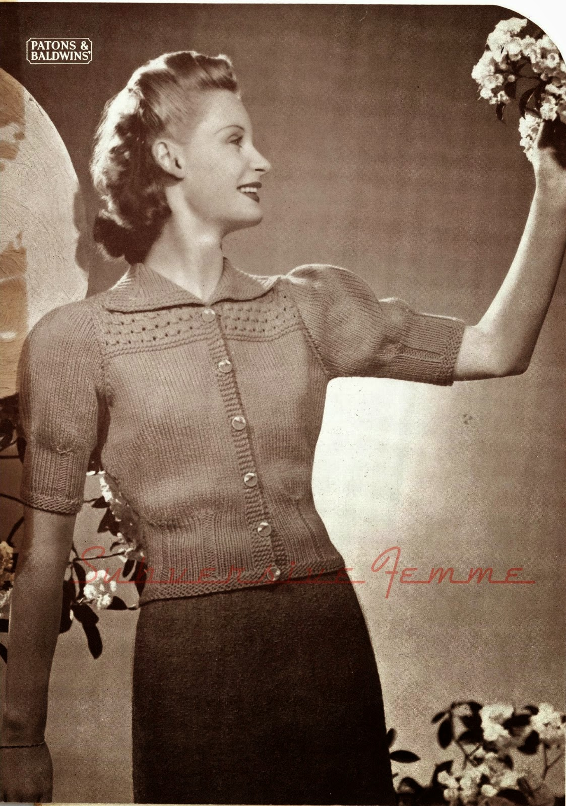 free  vintage 1940s knitting and crochet patterns