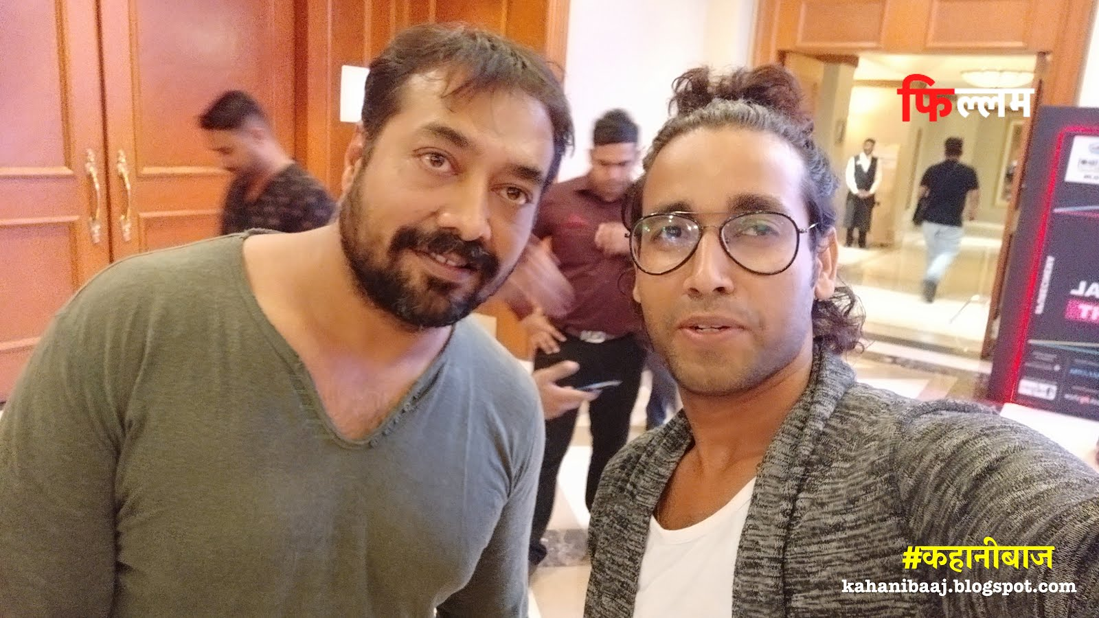Rajnish BaBa Mehta with Anurag Kashyap