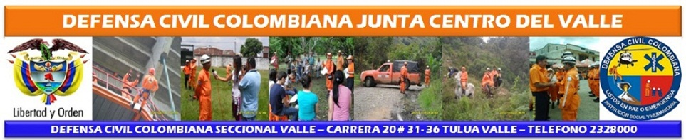 Defensa Civil Colombiana Junta Centro del Valle