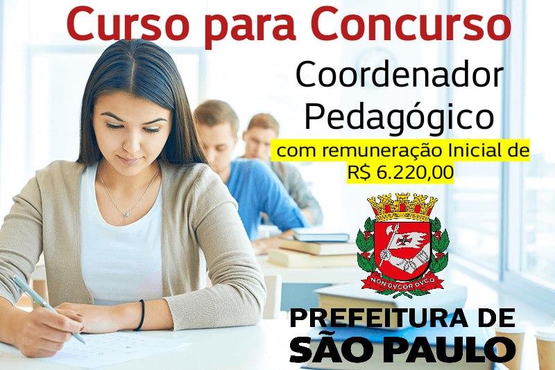 Curso para Concurso de Coordenador Pedagógico SME-SP (clique na imagem e saiba mais)